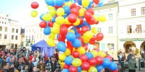 Trzy Kolory Cieszyna - wypuszczenie balonow